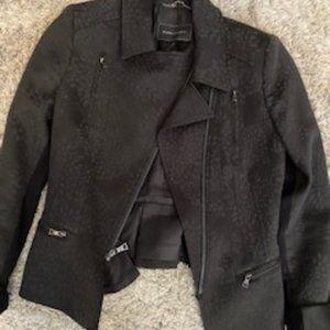 BCBGMaxAzria Women's Black Blazer